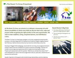 The Room to Grow Preschool