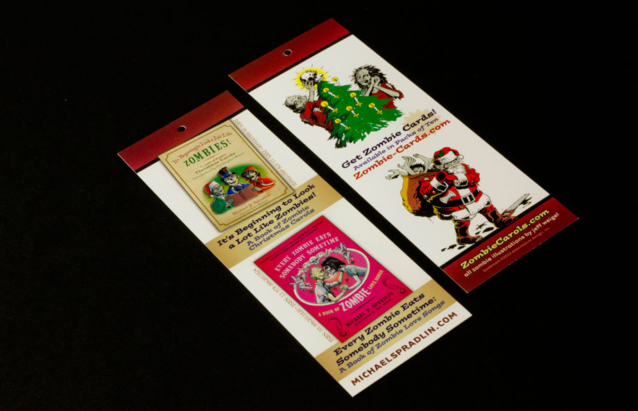 Zombie Christmas Cards Promotional Swag Ornament - Waxcreative ...